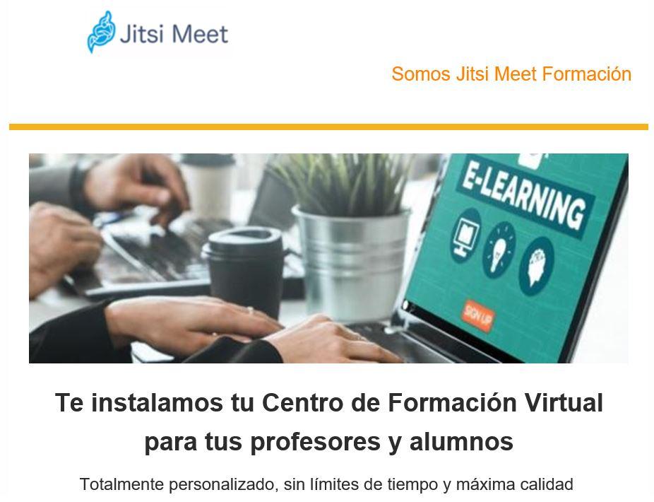 Aulas Virtuales Jitsi Meet Formación España